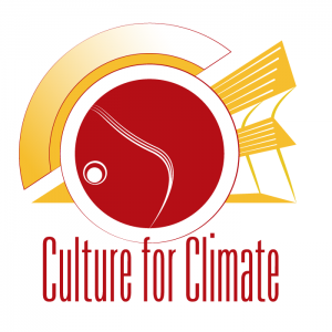 "Logo design for ""Culture for Climate"", an event organization that combines cultural experiences with social debate about climate change."