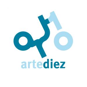 "Logo for an art School in Madrid called ""Arte Diez"""